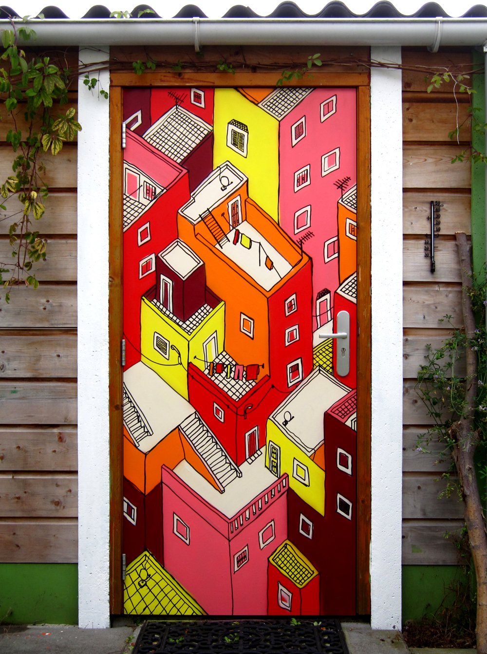 beschilderde-deur-stad-tuin