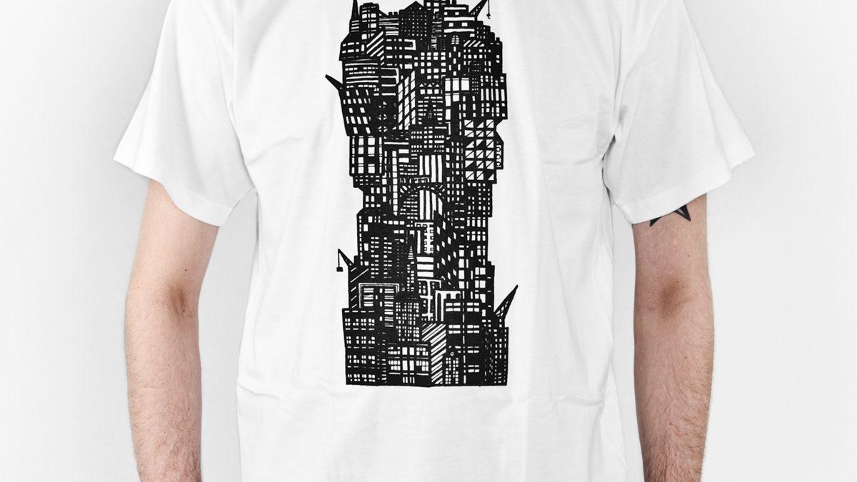 tshirt-verticale-stad-zeefdruk