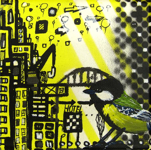 schilderij-city-pattern-10