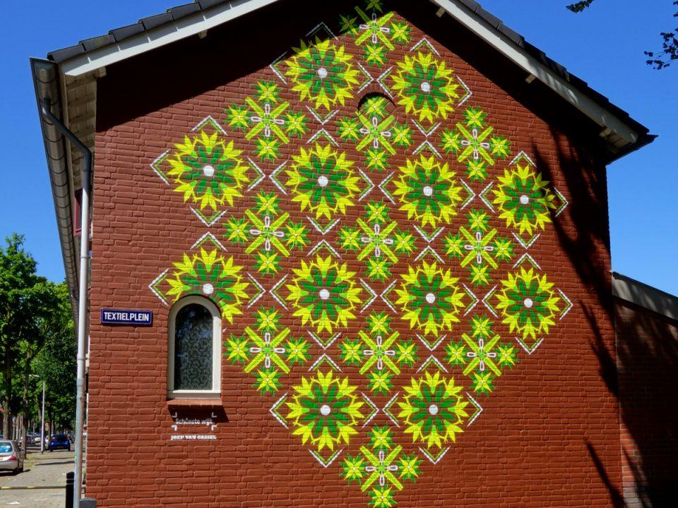 muurschildering-textielplein-patroon-tilburg