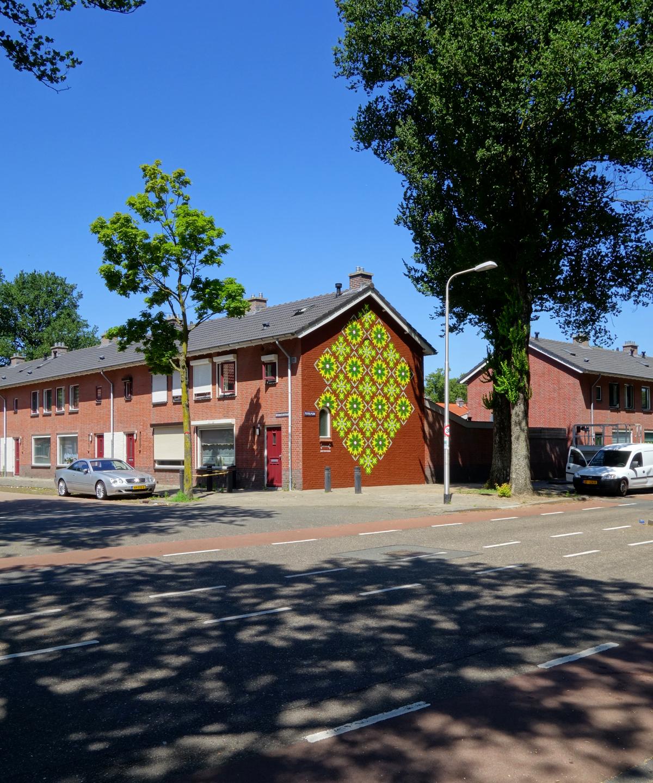 graffiti-muurschildering-textielplein-patroon-tilburg