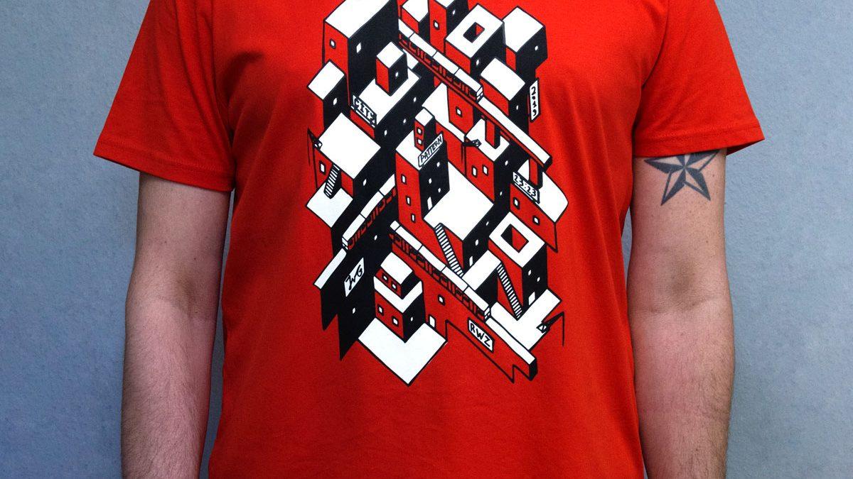 tshirt-zeefdruk-city-pattern