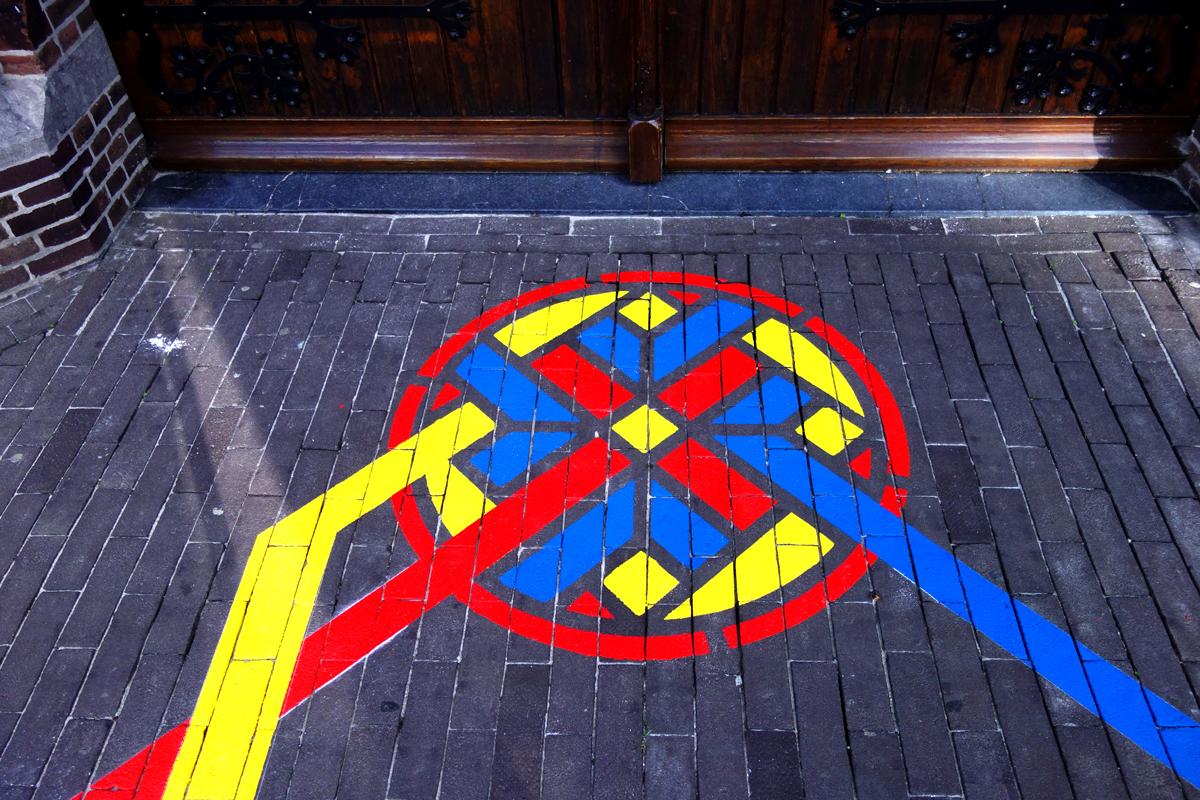 vloerschildering-rookvrije-zone